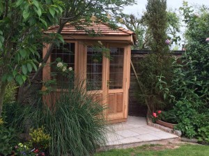 Cedar Summerhouse Cheshire