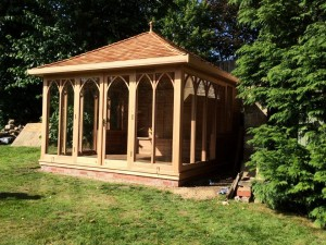 Cedar Summerhouse Newcastle