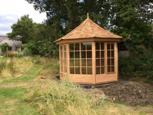 Cedar Summerhouse Dorset