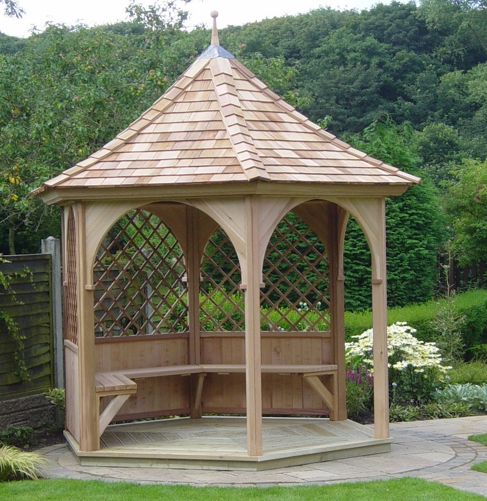 2 4 Metre Six Sided Gazebo Inspiration Stan Fairbrother