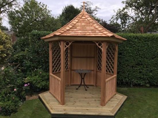 2 4 Metre Six Sided Gazebo Stan Fairbrother Garden