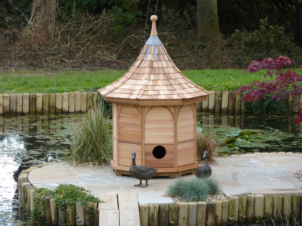 Duck house stan fairbrother garden structures for House duck