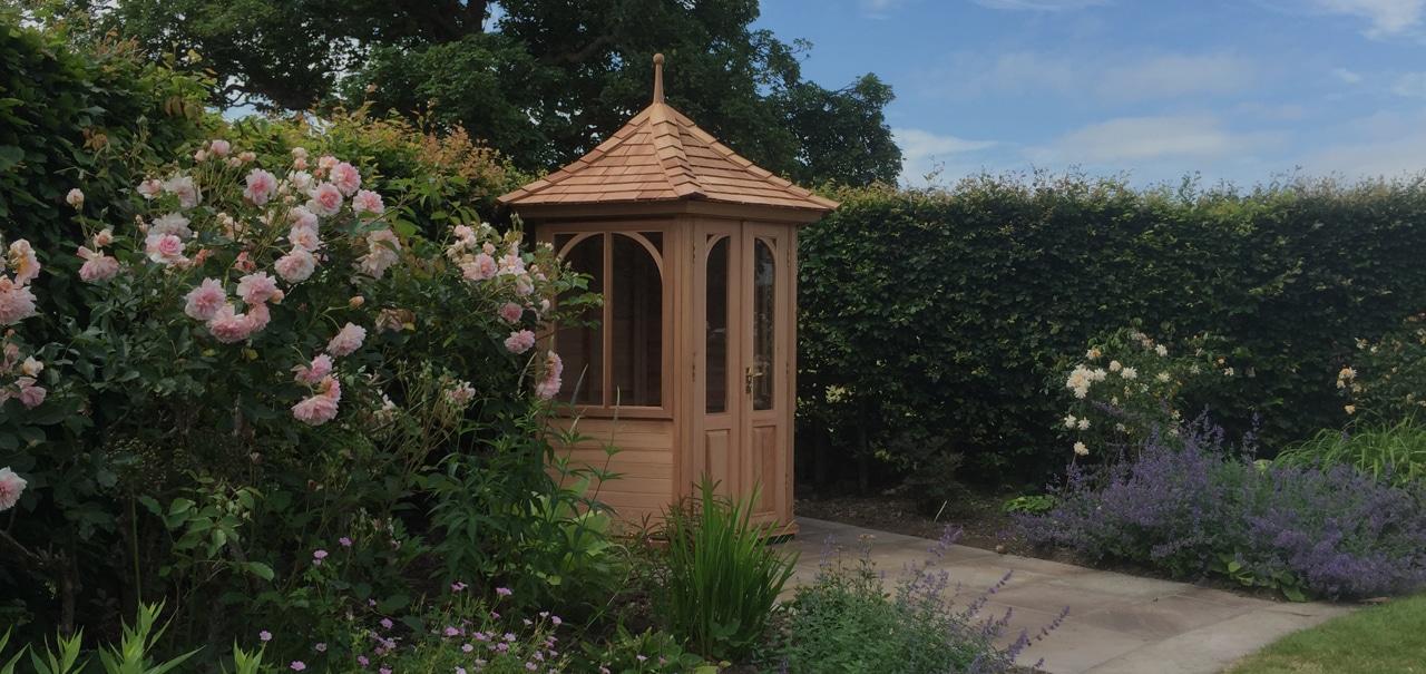Quality Bespoke Cedar Summerhouses