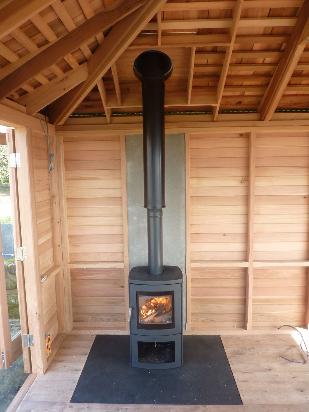 5 X 3 6 Metre Glass Amp Cedar Garden Room Stan
