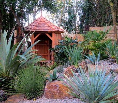 Gazebos owen chubb garden landscapers - Japanese Inspired Garden Stan Fairbrother Garden Structures