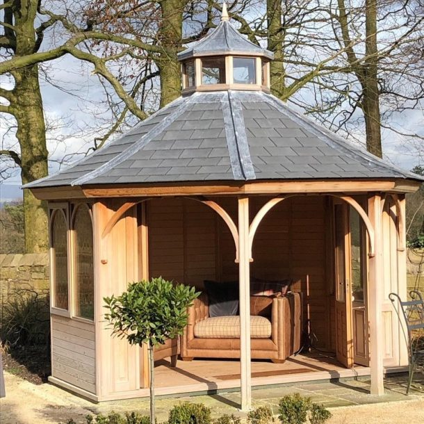Summerhouse a year later