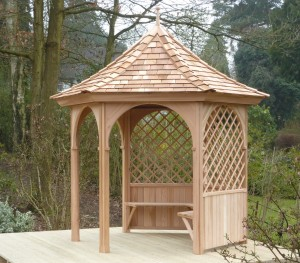 2.4m 6 Sided Gazebo